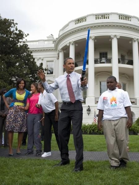 Obama Light Saber